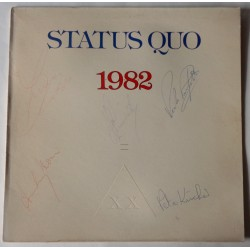 Status Quo Rossi Parfitt genuine authentic autograph signature signed album