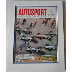 Dan Gurney Eagle F1 genuine authentic autograph signed Autosport