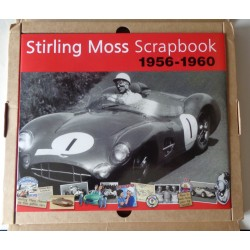 Stirling Moss Scrapbook F1 genuine authentic autograph signed book COA
