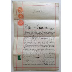 King George V genuine authentic autograph signed document COA AFTAL