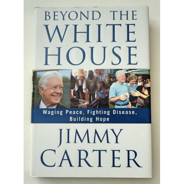 Jimmy Carter genuine authentic autograph signed signature book
