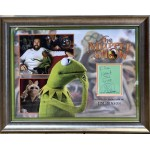 Jim Henson Muppets genuine authentic autograph signed signature display