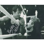 Rocky Stallone Brigitte Nielsen signed colour photo 3