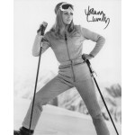 Joanna Lumley James Bond signature authentic genuine signed photo COA UACC