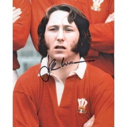 J P R Williams Rugby Wales genuine autograph signed signature photo