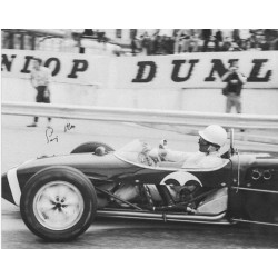 Stirling Moss motor racing genuine signed authentic signature photo 4