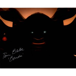 Star Wars Tom Baker Bendu genuine authentic signed autograph photo COA