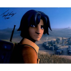 Star Wars Taylor Gray Ezra authentic genuine signed autograph photo COA UACC