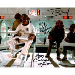 Star Wars Tim Dry Sean Crawford authentic genuine signed photo AFTAL