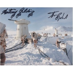 Star Wars Anthony Gilding Tom Egeland signed genuine signature photo