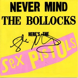 Sex Pistols Glen Matlock The Bollocks authentic genuine signed autograph CD