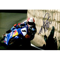 Michael Rutter IOM TTgenuine authentic signed autograph photo