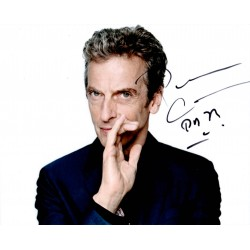 Peter Capaldi Doctor Who authentic genuine signed autograph photo AFTAL