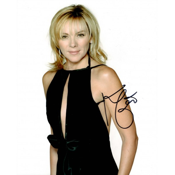 Kim Cattrall Sex and the City authentic genuine signed autograph photo AFTAL