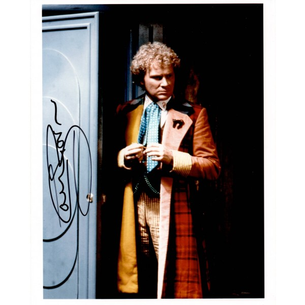Colin Baker Doctor Who authentic genuine signed autograph photo AFTAL