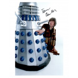 Tom Baker Doctor Who authentic genuine signed photo COA AFTAL UACC
