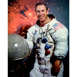 James Jim Lovell Apollo 13 authentic  signed autograph image COA