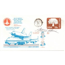Fred Haise Apollo 13 Shuttle flight genuine authentic autograph signed FDC