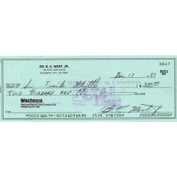 WW2 Frank Whittle Jet Engine genuine authentic signed autograph cheque COA