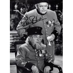 Ronnie Barker Two Ronnies genuine signed authentic signature image