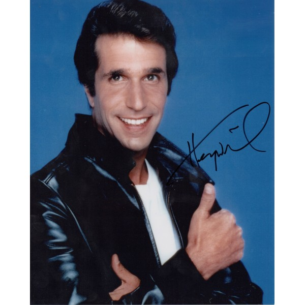 "Henry Winkler ""happy Days"" genuine authentic signed autograph photo 2"