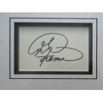 George Foreman Boxing genuine authentic signed autograph display