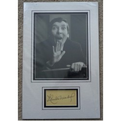 Kenneth Williams Carry On signed genuine signature autograph display