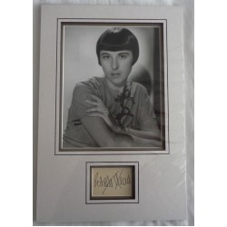 Edith Head 8 time AA winner genuine signed authentic signature photo