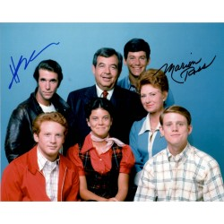Happy Days Winkler Marrion Ross authentic signed autograph signature photo