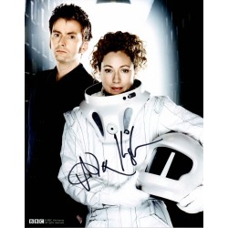 Alex Kingston Doctor Who genuine signed authentic signature photo
