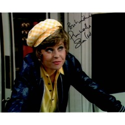 Fawlty Towers Prunella Scales  signed autograph colour photo 4
