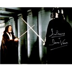 Dave Prowse Darth Vader Star Wars signed genuine signature photo 7