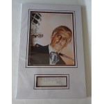 Peter Cushing Doctor Who Star Wars signed genuine signature autograph COA