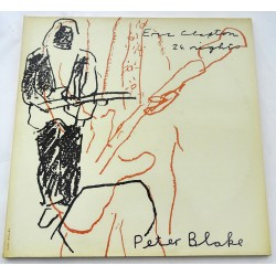 "Peter Blake ""24 Nights""  authentic genuine signature signed 12"" vinyl record sleeve"