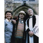 Doctor Who Sophie Aldred Nicholas Parsons signed authentic autograph photo