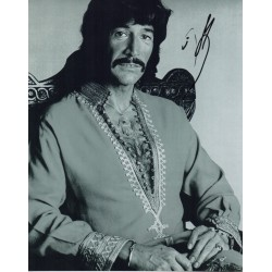 Peter Wyngarde Department S signed autograph photo