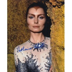 Catherine Schell Space 1999 authentic genuine signed autograph photo AFTAL