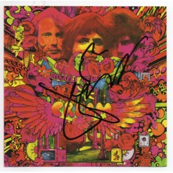 Cream Jack Bruce Disreali Gears music genuine signature autograph CD