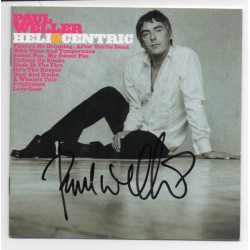 Paul weller Heliocentric music signed genuine signature autograph CD COA