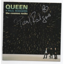 Queen Paul Rogers music signed genuine signature autograph CD COA