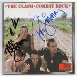 Clash Simonon Jones music signed genuine signature autograph CD COA