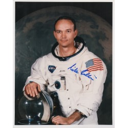 Mike Michael Collins Apollo 11 genuine authentic autograph signed photo.