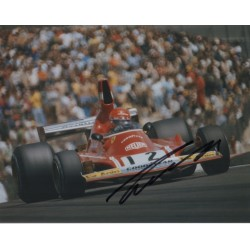 Niki Lauda Ferrari F1 genuine signed authentic autograph photo AFTAL