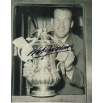 England Nat Lofthouse signed original genuine autograph authentic photo