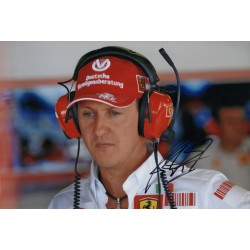 Michael Schumacher F1 Ferrari genuine authentic autograph signed photo 5