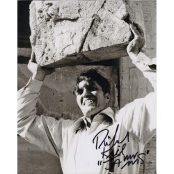 Richard Kiel James Bond authentic genuine signed photo COA UACC AFTAL