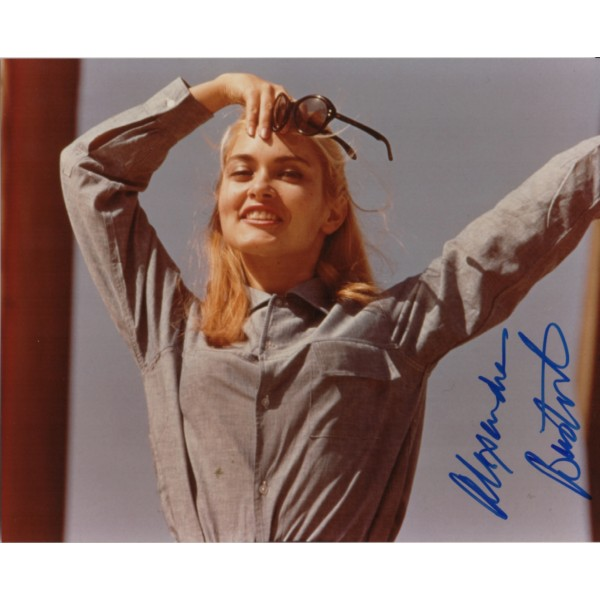 Alexandra Bastedo Champions authentic signed autograph photo 2 AFTAL