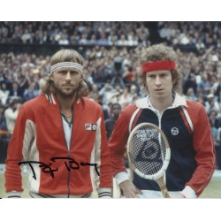 Bjorn Borg Tennis signed genuine signature autograph photo COA AFTAL