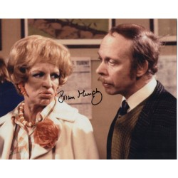 Brian Murphy George & Mildred signed authentic autograph photo UACC