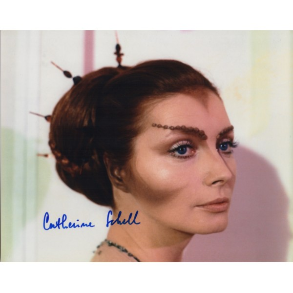 Catherine Schell Space 1999 genuine authentic autograph signed photo
